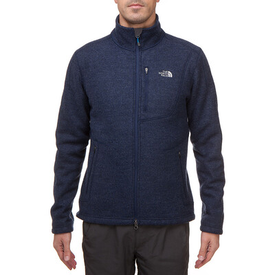 The North Face Men's Zermatt Full Zip empire blue heather 2012 M blau Outdoorbekleidung Outdoorjacke Fleecejacke M